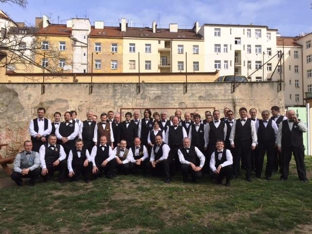 Mistrovství republiky seniorů 2015 - jedno druhé místo a dvě třetí místa pro Harlequin Praha
