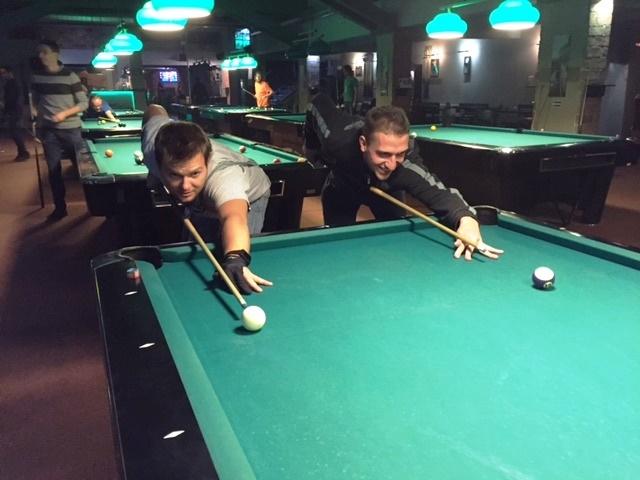 Výsledky pravidelných nedělních turnajů v poolbilliardu 8 ball