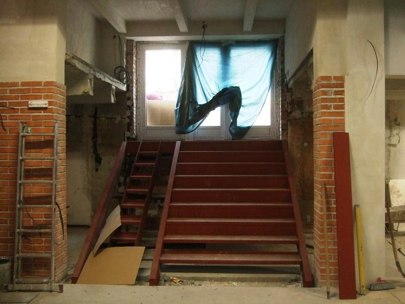 vchod zevnitř-schody