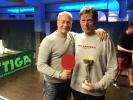 Senzační vítězství Jardy Vašáka, napětí až do konce, výsledky odehraných turnajů, stolní tenis