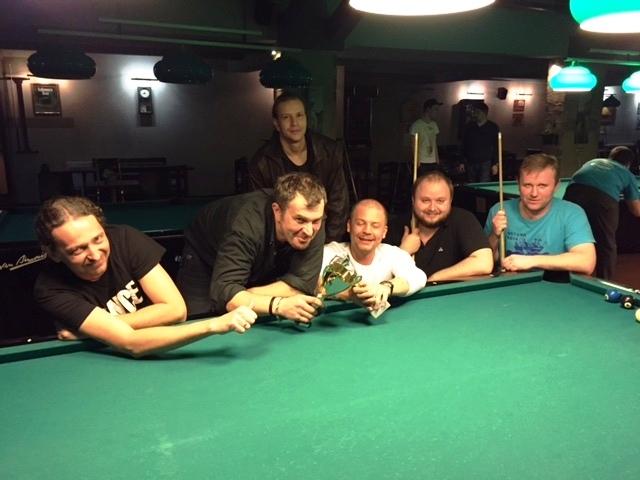Výsledky turnajů pool , stolní tenis a Holandský billiard v kulečníkovém klubu Harlequin