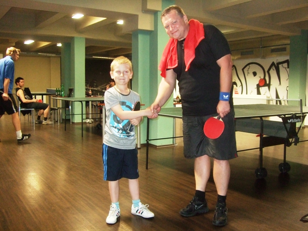 Vašek Podrazil a Ivan Courton billiard - kulečník - ping pong Praha 10