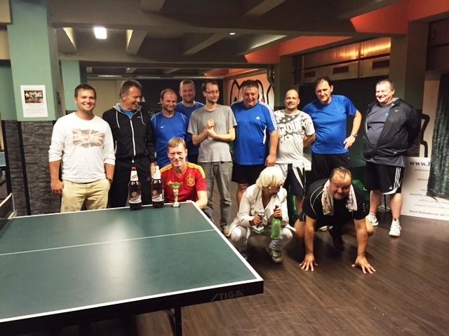 Výsledky turnajů 6. a 13.10.2015 ve stolním tenise v Harlequinu Praha